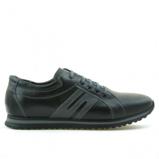 Men sport shoes 768 black+gray