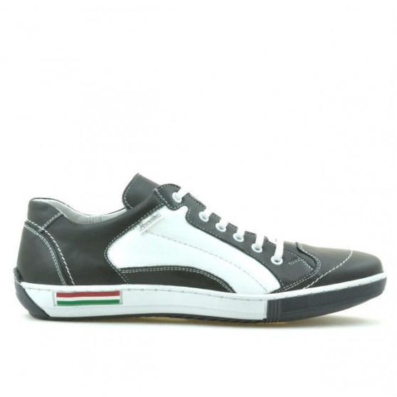 Men sport shoes 707 gray+white