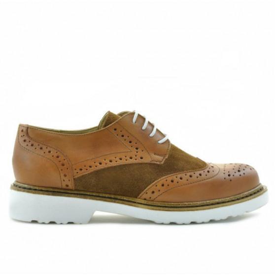 Pantofi casual dama 663 antic combinat