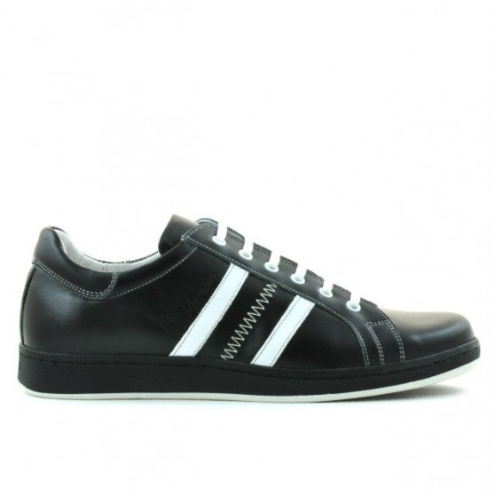 Men sport shoes 959 black+white