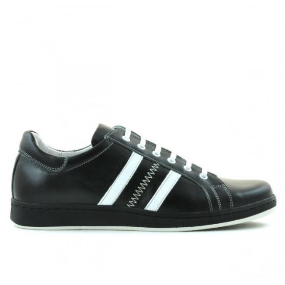 Pantofi sport barbati 959 negru+alb