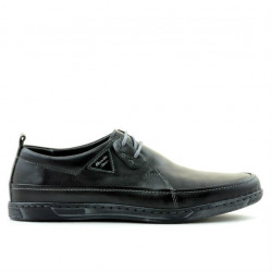 Men casual shoes 744 black