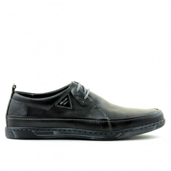 Pantofi casual barbati 744 negru