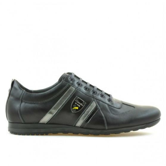 Men sport shoes (large size) 711m black+gray