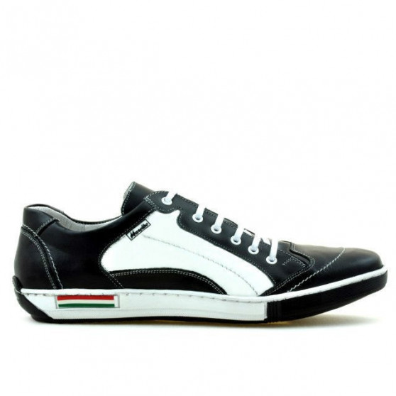Men sport shoes 707 black+white