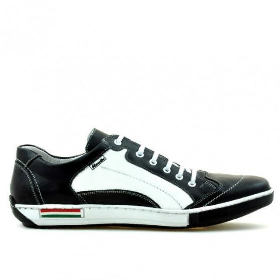 Pantofi sport barbati 707 negru+alb
