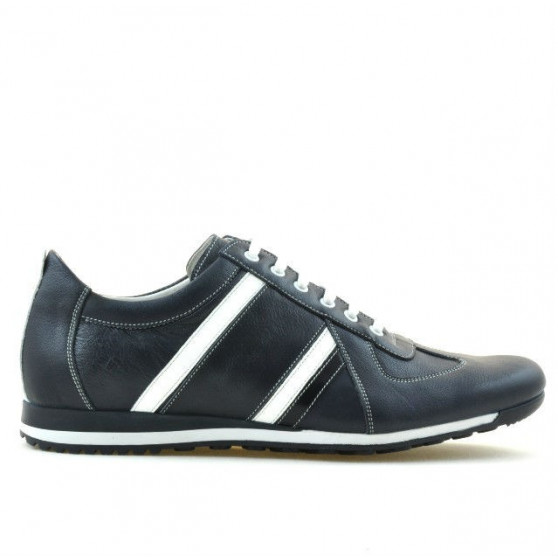 Men sport shoes 711 indigo+white