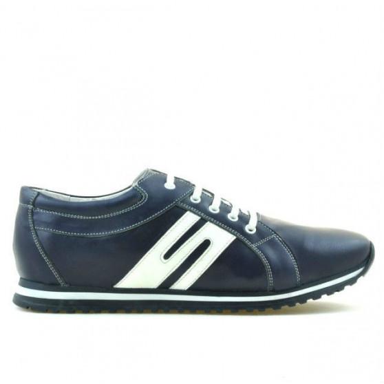 Men sport shoes 768 indigo+white