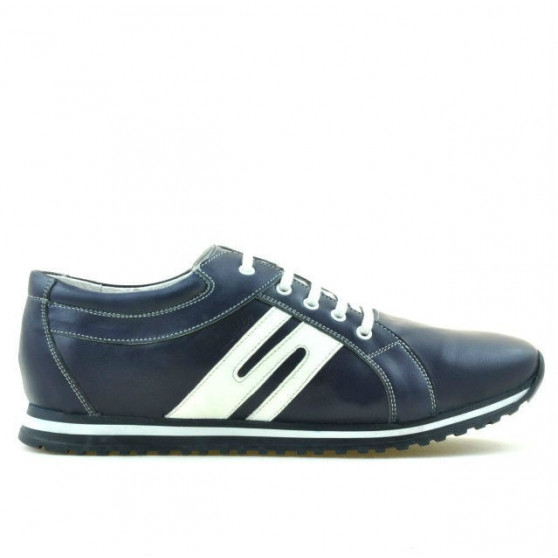 Pantofi sport barbati 768 indigo+alb