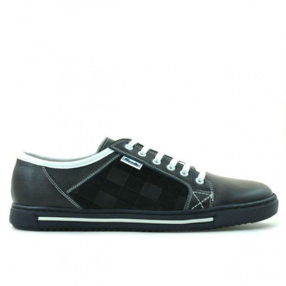 Pantofi sport barbati 851 indigo+alb