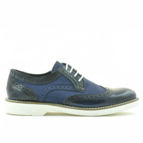 Men casual shoes 826 indigo florantic combined