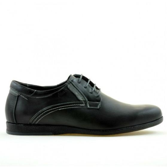 Men casual shoes 857 black