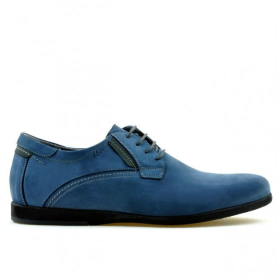 Pantofi casual barbati 857 bufo albastru