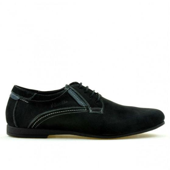 Pantofi casual barbati 857 bufo negru