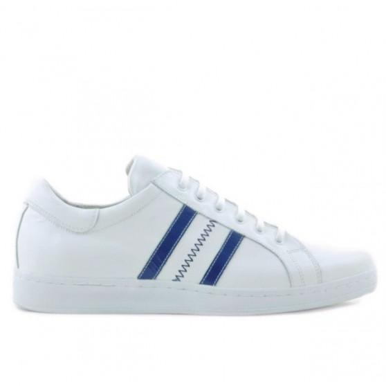 Pantofi sport barbati 959 alb+bleu