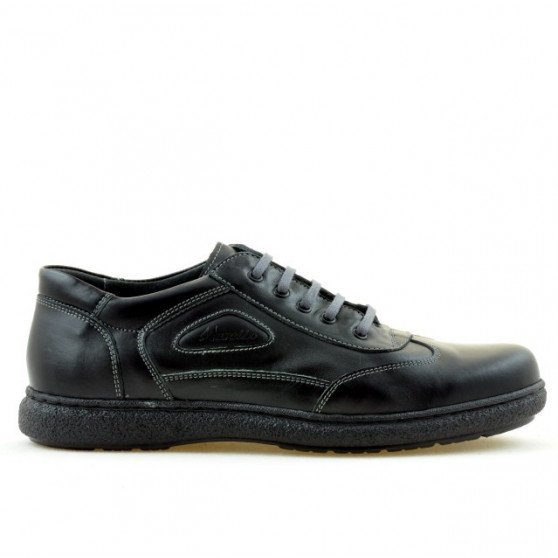 Pantofi casual / sport barbati ( model larg ) 858xxl negru