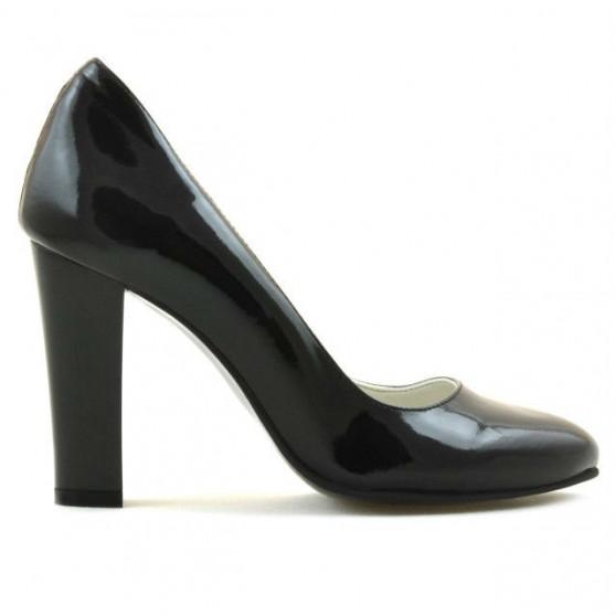 Pantofi eleganti dama 1214 lac negru