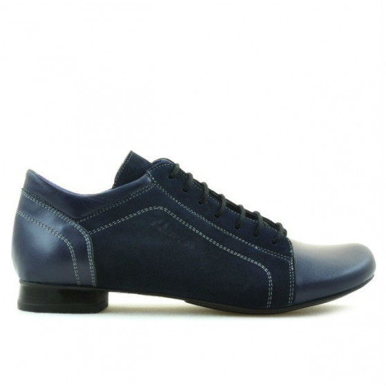Pantofi casual dama 645 indigo combinat