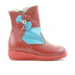 Small children boots 20c red+bleu