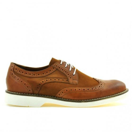 Pantofi casual barbati 826 antic combinat