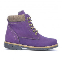 Children boots 3209 bufo purple