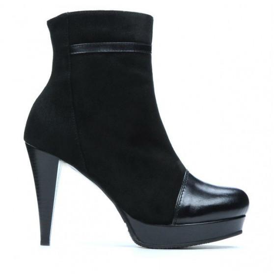 Women boots 1130 black antilopa combined