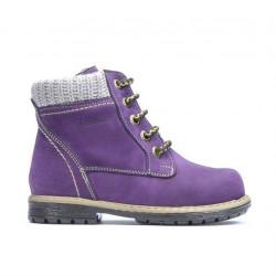 Small children boots 29c bufo purple