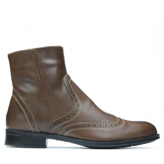 Men boots 477 brown