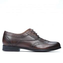 Pantofi eleganti adolescenti 393 a maro