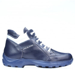 Teenagers boots 436 indigo+white