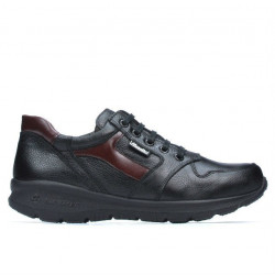 Pantofi sport adolescenti 397 negru+bordo