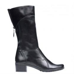 Women knee boots 3239 black