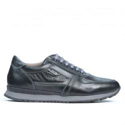 Pantofi sport barbati 833 negru combinat