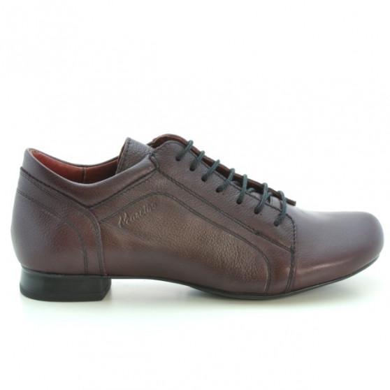Pantofi casual dama 645 grena