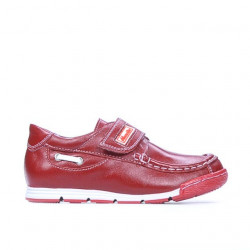 Pantofi copii mici 01c rosu