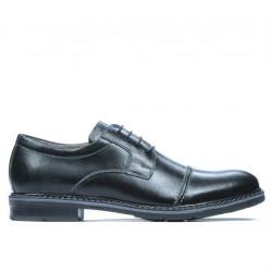 Men stylish, elegant, casual shoes 756-1 black