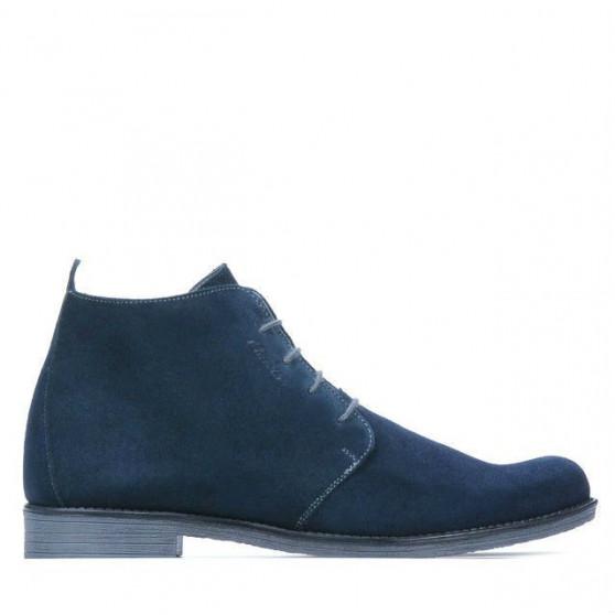 Men boots 412 indigo velour