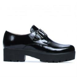 Pantofi casual dama 670 lac negru