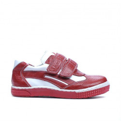 Small children shoes 16-1c red+white