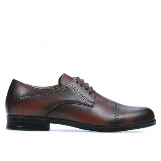 Pantofi eleganti adolescenti 396 a maro