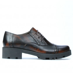 Pantofi casual dama 669 a maro