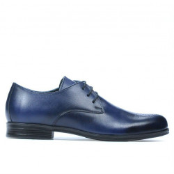 Teenagers stylish, elegant shoes 398 a indigo
