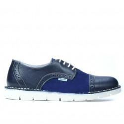 Pantofi casual dama 7001 indigo combinat