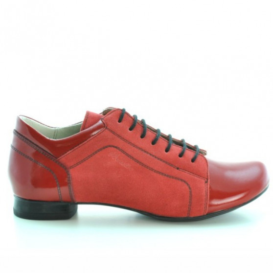 Women casual shoes 645 red combined