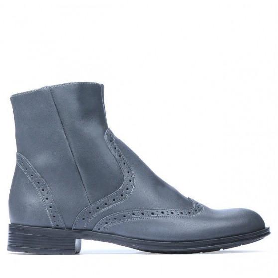Men boots 477 a gray