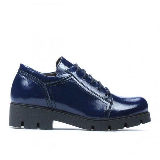 Pantofi copii 158 lac indigo