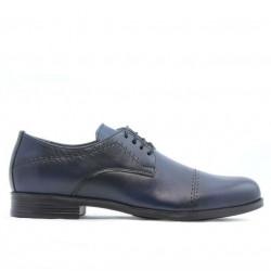Teenagers stylish, elegant shoes 396 a indigo