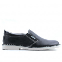 Men casual shoes (large size) 7200m black
