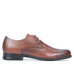 Teenagers stylish, elegant shoes 398 a brown