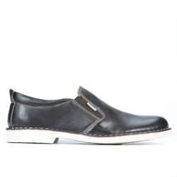 Men casual shoes (large size) 7200m cafe